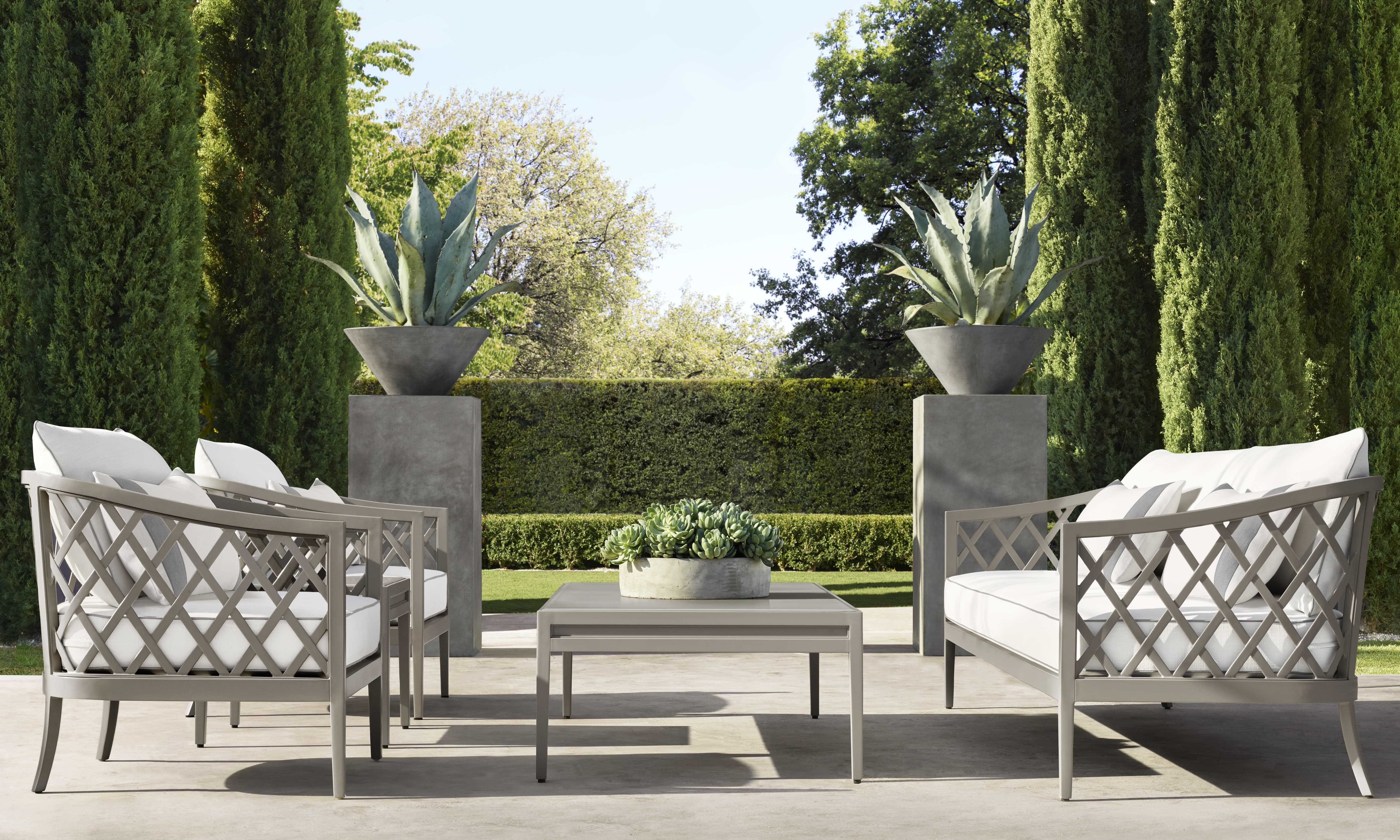 Restoration Hardware Creates A French Inspired Garden Collection